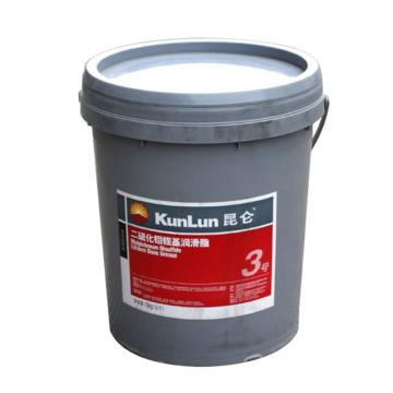 昆仑3号二硫化钼锂基润滑脂,15KG