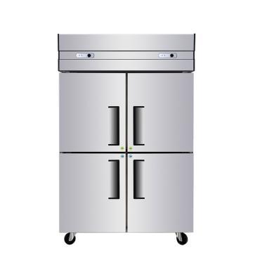 星星,840升商用四门厨房冰箱,BCD-840E
