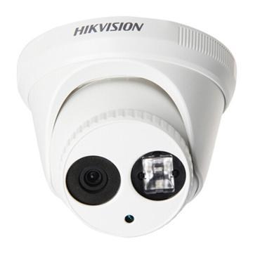 海康威视 400万半球型网络监控摄像头 带POE供电 红外30米  DS-2CD3345-I(6mm)