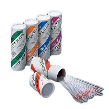 进口毛细管,EM MEISTER ringcaps®,容量100μℓ,250支/盒