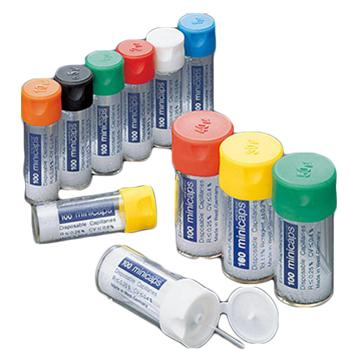 进口毛细管,EM MEISTER minicaps®,容量30μℓ,100支/盒