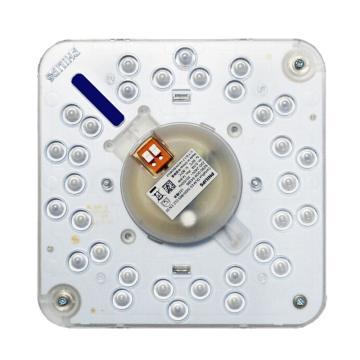 飞利浦 LED吸顶灯改造灯板 Certaflux DLM ES1900/830磁铁吸附升级为18.4W黄光 替换40W环管,单位个