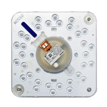 飞利浦 LED吸顶灯改造灯板 Certaflux DLM ES1500/830磁铁吸附升级为14.8W黄光 替换32W环管,单位个