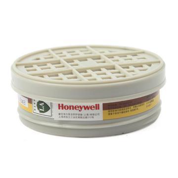 霍尼韦尔G104双滤盒,防酸性气体及蒸汽,6只/盒