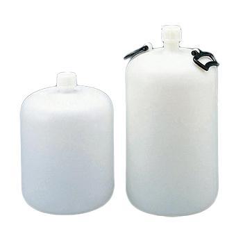 进口高密度聚乙烯细口大瓶,10L,口内径×瓶体直径×高φ35×φ218×383mm