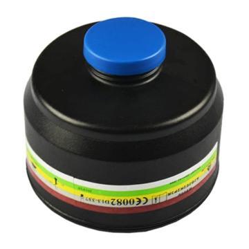 代尔塔M9000 过滤罐,综合2级+P3防尘滤罐,105136