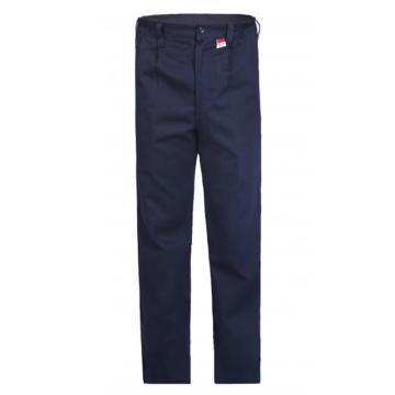 雷克兰 HRC2 级 8.9 Cal/cm2 防电弧裤子,S,深蓝(DH经济面料)