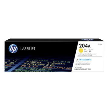 惠普(HP)204A适用于 HPM154A/M180N/M181F CF512A黄色硒鼓(204A)约900页