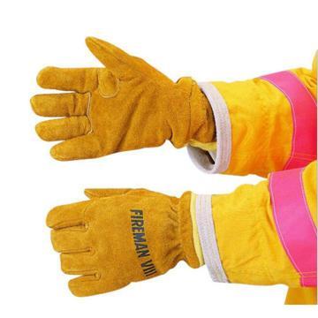 雷克兰皮质消防手套,344-11SG