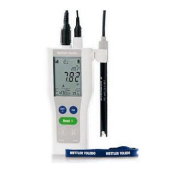 METTLER 新FiveGo便携式pH计 F2-Field,30254115