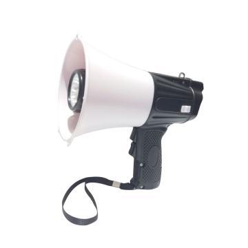 多功能喊话器-具有扩音/录音/警报/照明/收音/哨子功能,工程塑料外壳,210×132×195mm,20363