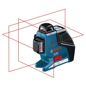 博世/BOSCH 线段激光测量仪GLL3-80P主机,红光3条线360度,产品编号:0601063306