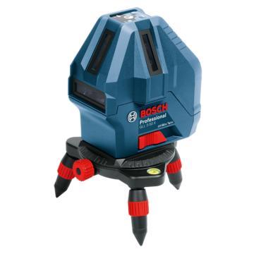 博世/BOSCH 激光水平儀,GLL5-50X,紅光5線1點升級版,產品編號:0601063N80