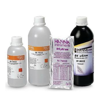 HANNA电导率标准溶液, 84µS/cm,500mL/瓶,HI7033L