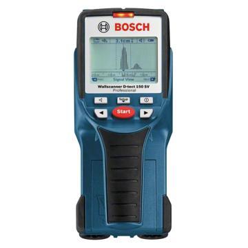博世/BOSCH 墙体探测仪,D-Tect150,最大测量深度150毫米,可探测铁质跟非铁质金属、电线、木材、塑料,产品编号:0601010008