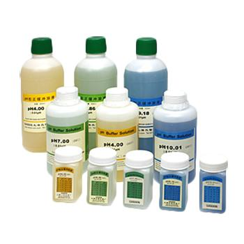 pH缓冲液,pH4.00 校正缓冲溶液,500ml/瓶 3瓶/盒 1盒起订