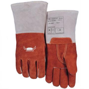 威特仕 焊接手套,10-2900XL,耐高温手套 咖啡色