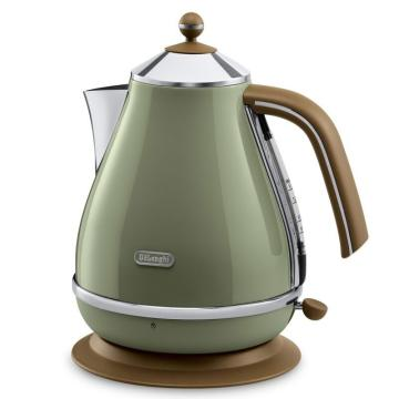 德龍Icona復古系列電水壺,橄欖綠 KBOV2001.GR,單位:臺
