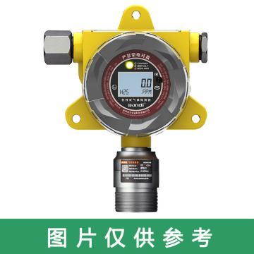 FIX550系列固定式氯气检测仪,0-5ppm 常规中档,黑白屏显示 无报警