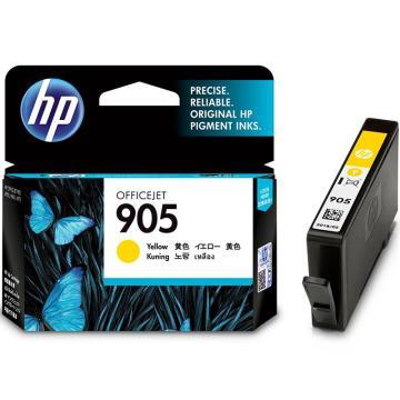 惠普(HP) 黄色墨盒,T6L97AA 905(适用于HP OJ6960,6970) 单位:个