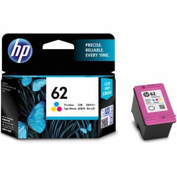 惠普(HP) 原裝62 62XL墨盒, 適用于HP OfficeJet 200移動打印機 C2P06AA 62彩色 單位:個