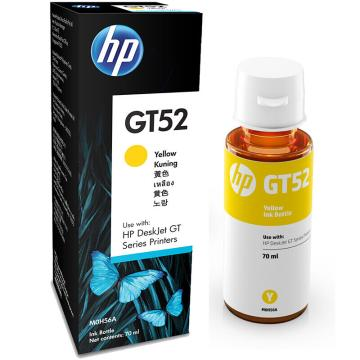 惠普(HP) 打印机墨水, 适用惠普加墨式墨仓打印机GT5810 GT5820 M0H56AA GT-52黄色 单位:个