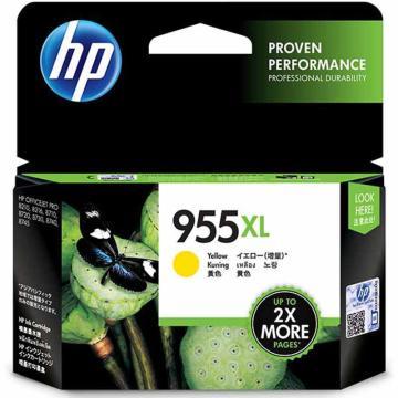 惠普(HP) 高容量原装黄色墨盒,L0S69AA 955XL(适用HP 8210 8710 8720 8730) 单位:个