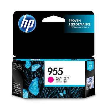 惠普(HP) 原装品色墨盒,L0S54AA 955 (适用HP 8210 8710 8720 8730) 单位:个