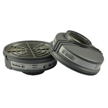代尔塔 M6000 P3R 防粉尘滤盒,105129,2只/包