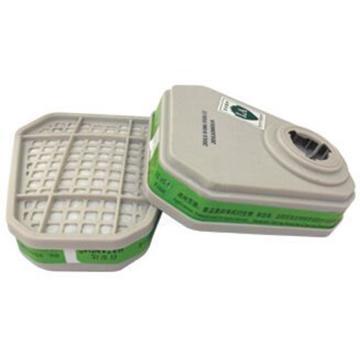 百安达 滤毒盒,3415,防氨及衍生物气体过滤件,2个/袋