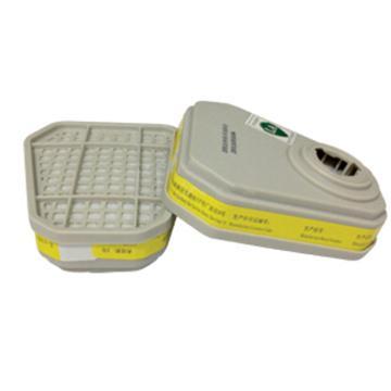 百安达滤盒,防酸性气体过滤件,2个/袋,3315
