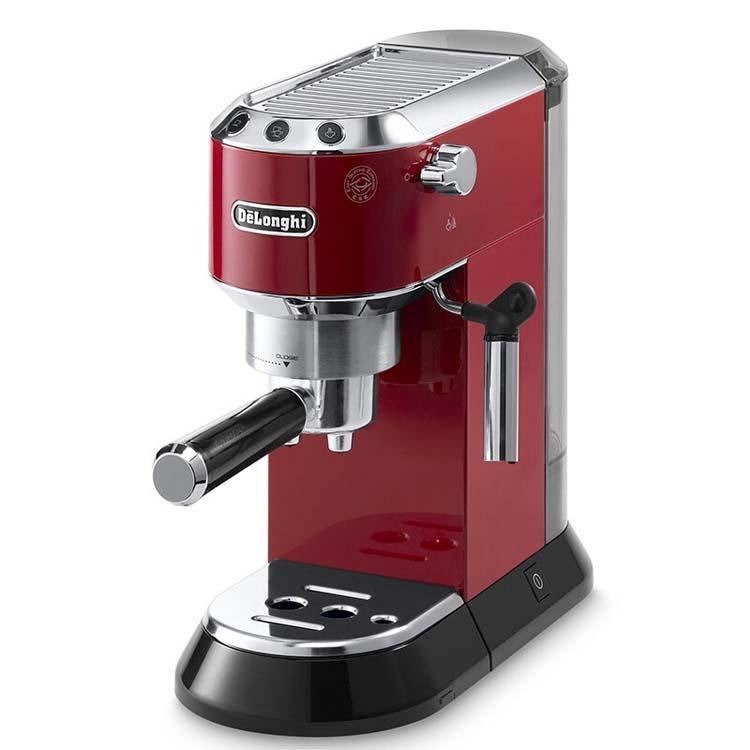 德龍DEDICA系列泵壓式咖啡機,紅色 EC680.R,單位:臺