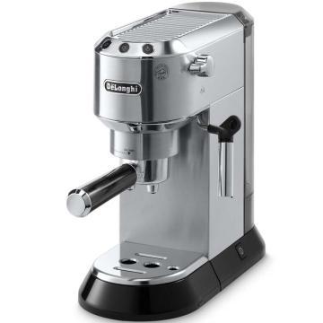 德龍DEDICA系列泵壓式咖啡機,金屬色 EC680.M,單位:臺