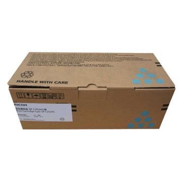 理光蓝色高容墨粉盒SP C252HC型(407725)适用C252DN/C252SF 打印6000页