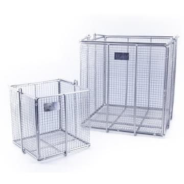 不锈钢方形清洗筐,特中,250×250×250mm,1个