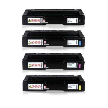 理光高容墨粉盒SP C252HC型 适用C252DN/C252SF  黑红青黄四色一套