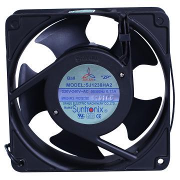 三巨 散热风扇,SJ1238HA2,220V,导线式,滚珠轴承,120×120×38mm