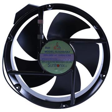 三巨 散热风扇(全圆型),SJ2206HA2,220V,导线式,滚珠轴承,220×60mm