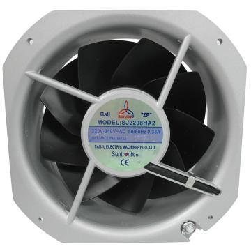三巨 散热风扇,SJ2208HA2,220V,导线式,滚珠轴承,225×225×80mm