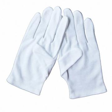 西域推荐 棉手套,涤棉品管手套,1副