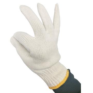西域推荐 纱线手套,全棉600g粗纱线手套,10副/包