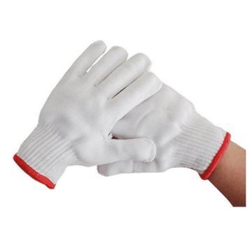誉丰 尼龙手套,手腕边颜色随机发,12副/打