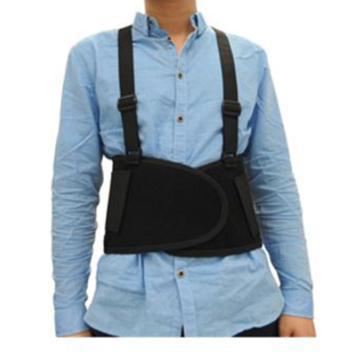 TIM WORK 可调节式护腰带,6101-XL,黑色