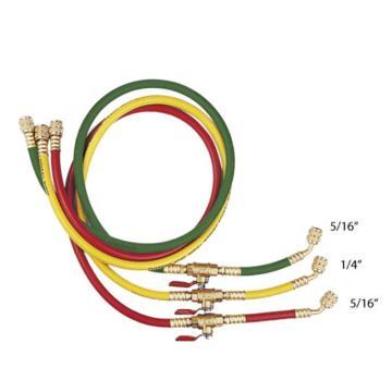 格美 三色胶管,CM-372-RYB-HV,带球阀,适用R410
