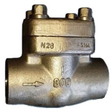 遠大閥門 不銹鋼304焊接止回閥 H61H-64P,DN25