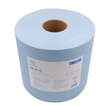 邦拭多功能擦拭布,蓝色单层 230x340mmx500张/卷 2卷/箱 单位:箱