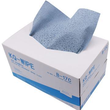 邦拭吸油擦拭布,蓝色单层  抽取 300x360mmx150张/盒 4盒/箱