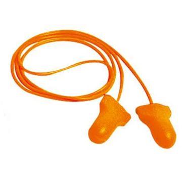 霍尼韋爾Honeywell 一次性耳塞,LPF-30-O-CH,Max Lite T型PU發泡材質 帶線,100副/盒