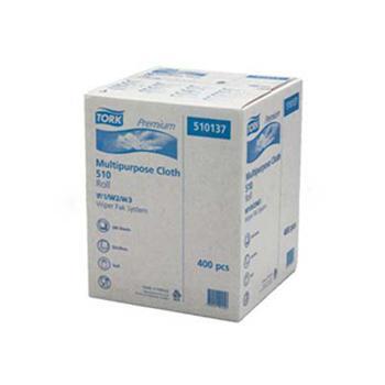 多康(TORK) 清洁布大卷式,白色 380*320mm 400张 510137,152米/卷 1卷/箱 单位:箱