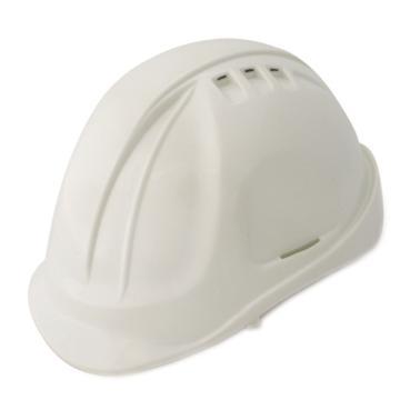羿科 安全帽,60102802-W,AT60 ABS透气型安全帽 白色